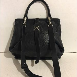 Alexander wang Black leather shoulder handbag
